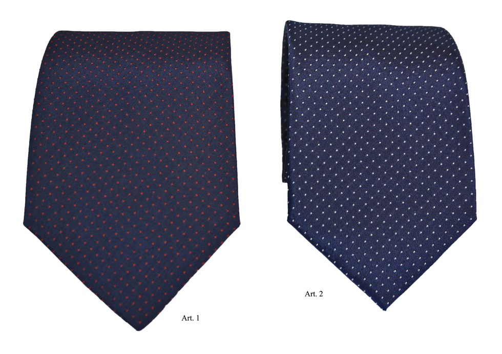 Fancy polka dot ties