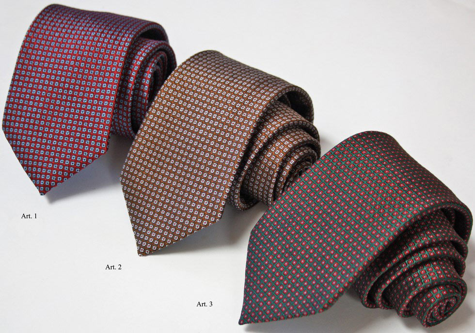 Ties for man in classic design