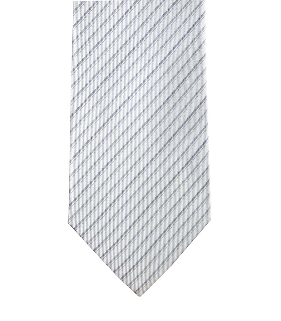 Ceremony tie in clear regimental