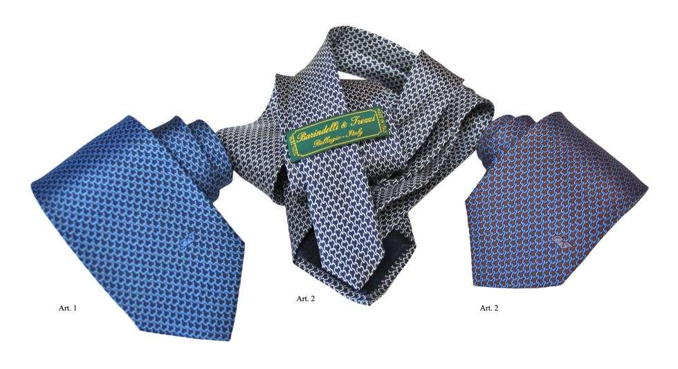 Ties chains design, Barindelli & Trezzi