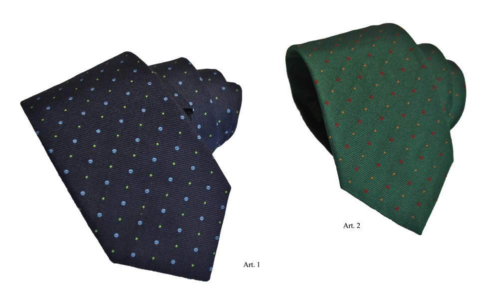 Ties with polka dots C.D11