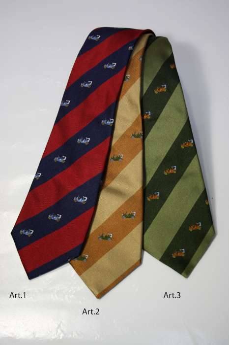 Ties striped patterned 03A
