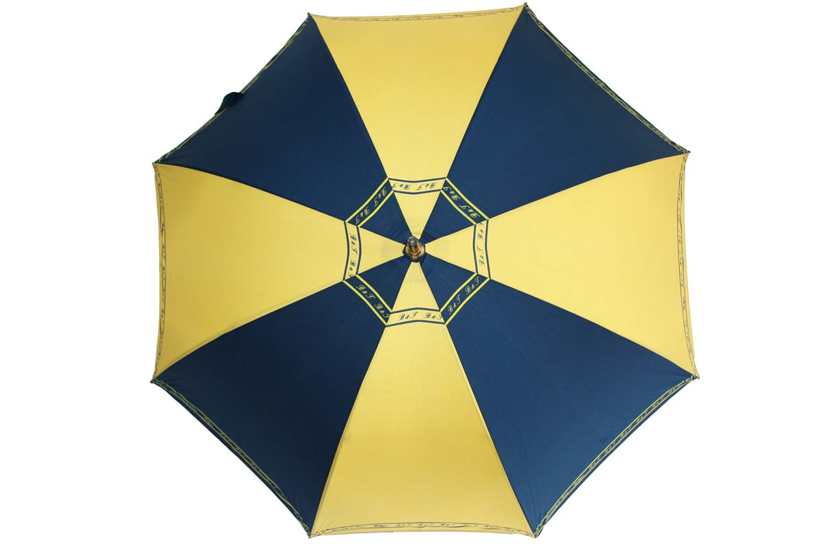 Umbrella blue-yellow