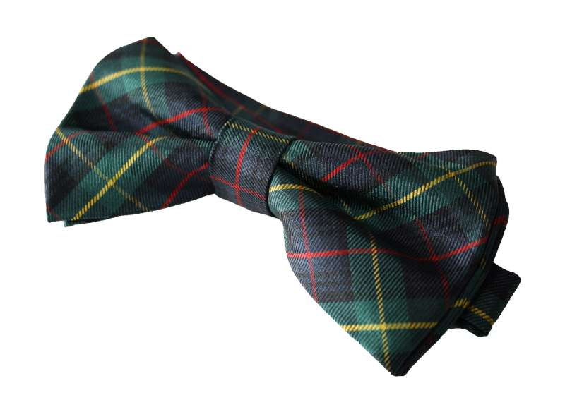 Scottish silk bow tie PP.A02a