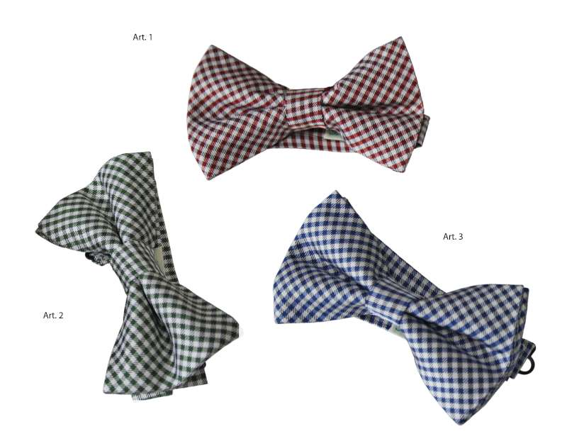 Bow tie fancy silk