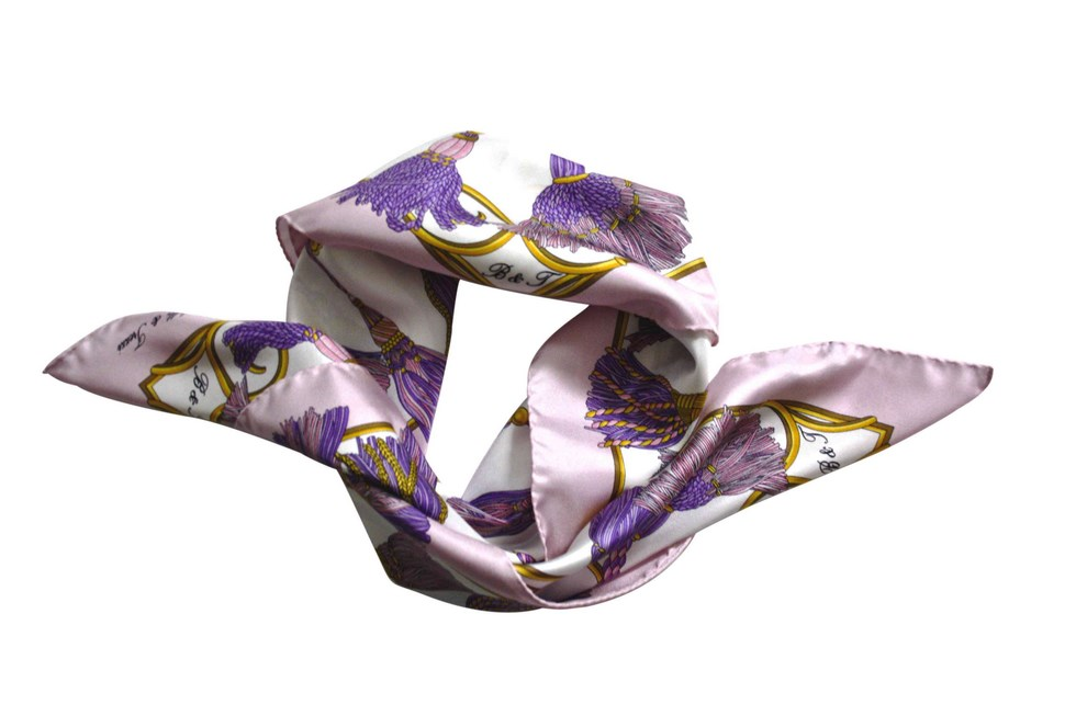 Scarves B & T Classic - Embrasse pink and purple