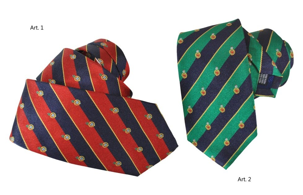Ties striped design escutcheons