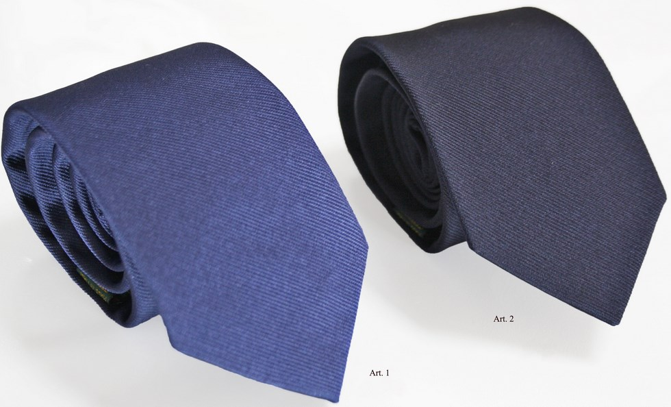 Ties plain color purple and navy