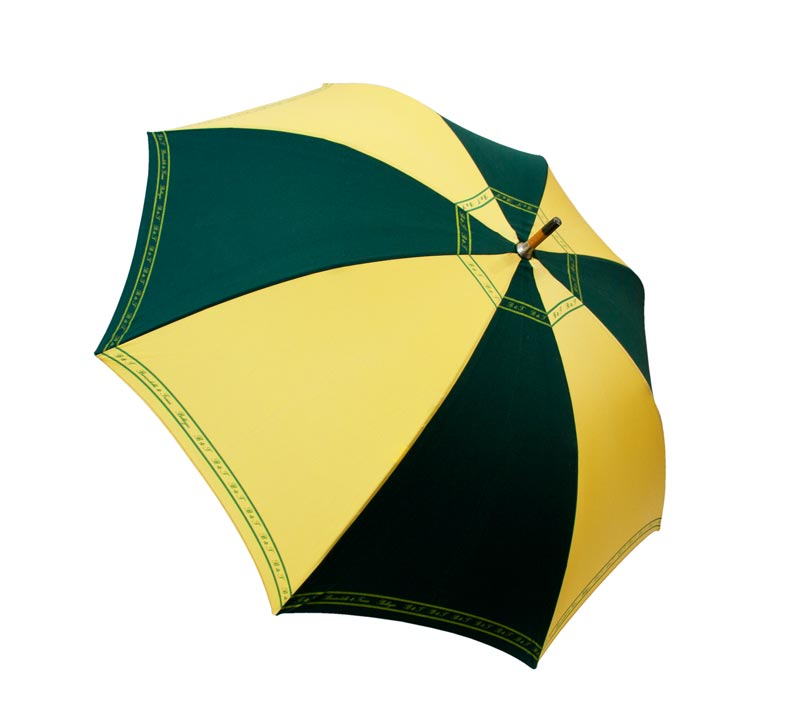 Umbrella Green - Yellow